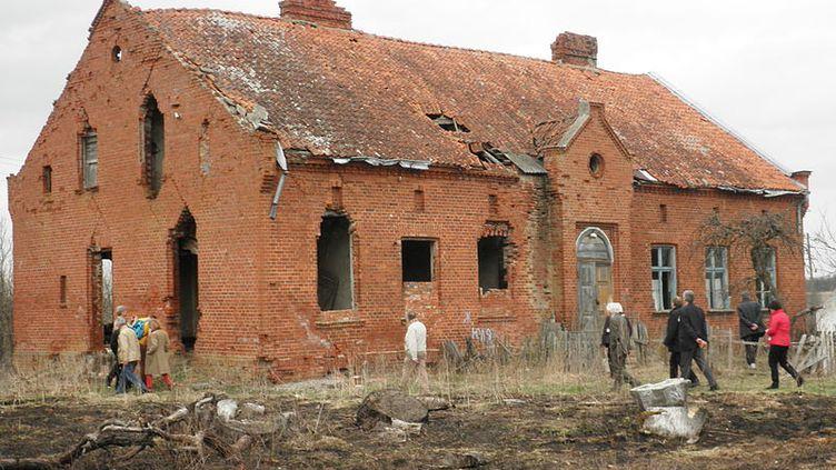 Les ruines de la maison d'Emmanuel Kant, dans la région de Kaliningrad (Russie), en avril 2013. (WIKSWAT / WIKIMEDIA COMMONS)
