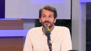 """Bastien Lachaud, député France Insoumise de Seine Saint-Denis, était invité de """"Tout est politique"""" (RADIO FRANCE / FRANCE INFO)"""