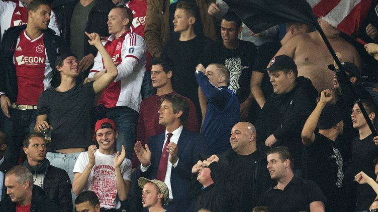"""L'Association des supporters de l'Ajax évoque un """"scandale"""" (OLAF KRAAK / ANP MAG)"""