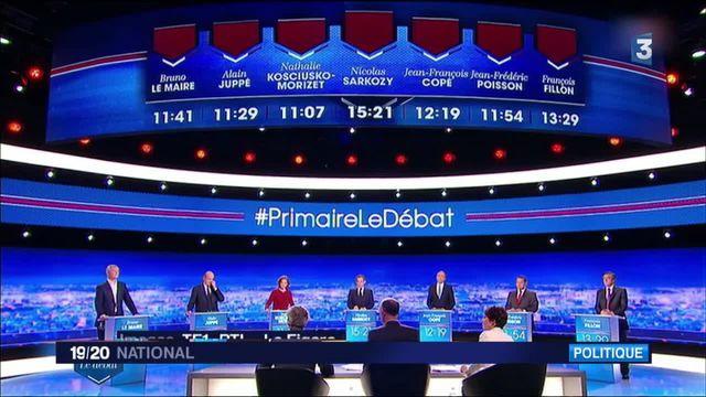 Débat de la primaire de droite : retour sur les moments clés