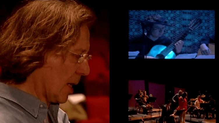 Philippe Nahon mène à la baguette la direction musicale d'Ars Nova. Il prône le pluralisme et l'audace quitte à récolter des critiques.  (France3 / Culturebox)