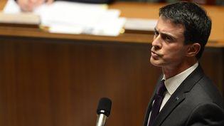 Le Premier ministre, Manuel Valls, lors des questions au gouvernement à l'Assemblée nationale, le 18 novembre 2015. (ALAIN JOCARD / AFP)