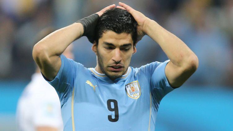 Luis Suarez ne devrait plus jouer avec les siens au Brésil (JOSE PATRICIO / ESTADAO CONTEUDO)