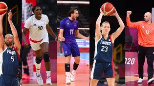 Cinq équipes françaises disputent les demi-finales en sports collectifs. (MONTIGNY PHILIPPE / HERVIO Jean-Marie / CROSNIER Julien / Franck Fife / AFP)