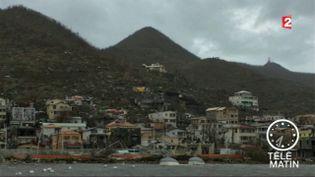 Le port de Gustavia, à Saint-Barthélemy, le 6 septembre 2017. (FRANCE 2)