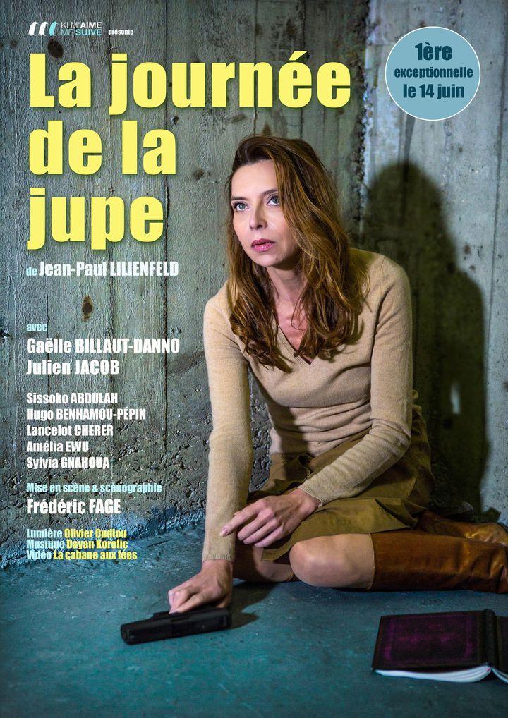 """L'affiche de l'adapation théâtrale de """"La Journée de la jupe"""" (DR)"""