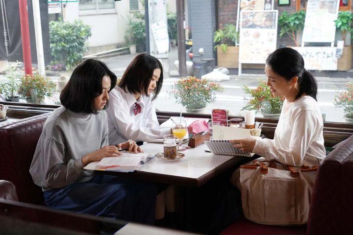 "Mariko Tsutsui (D) dans ""L'Infirmière"" deKôji Fukada. (Copyright Art House)"