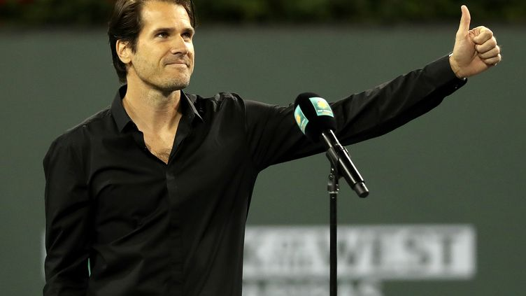 Le tennisman Allemand Tommy Haas a pris officiellement sa retraite.  (MATTHEW STOCKMAN / GETTY IMAGES NORTH AMERICA)