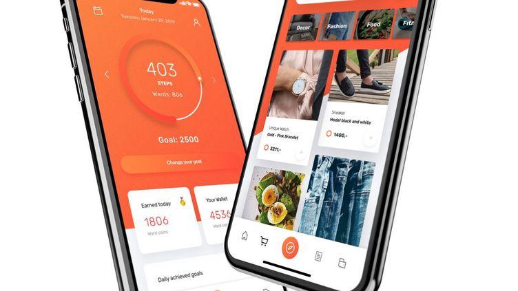 La startup WeWard collabore avec le CHU de Nice pour un projet Bien Vieillir. Elle a développé une application mobile qui vous récompense lorsque vous marchez.  (WEWARD)