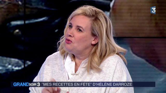 """Hélène Darroze présente ses """"Recettes en fête"""""""