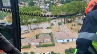 Des pluies diluviennes en pleine nuit, par endroits l'eau est montée très vite à Béziers (Hérault) et a surpris les habitants dans leur sommeil. Retour sur cette journée éprouvante pour des milliers de personnes. (CAPTURE D'ÉCRAN FRANCE 3)