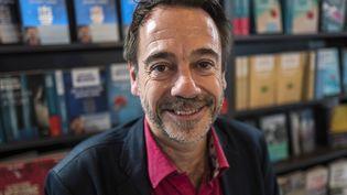 Michel Bussi le 11 octobre 2017 à la Foire de Francfort  (Michel Bussi le 11 octobre 2017 à la Foire de Francfort)