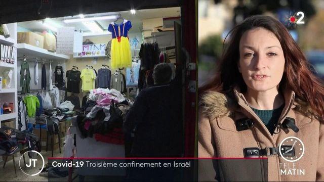 Covid-19: Israël se reconfine pour la troisième fois