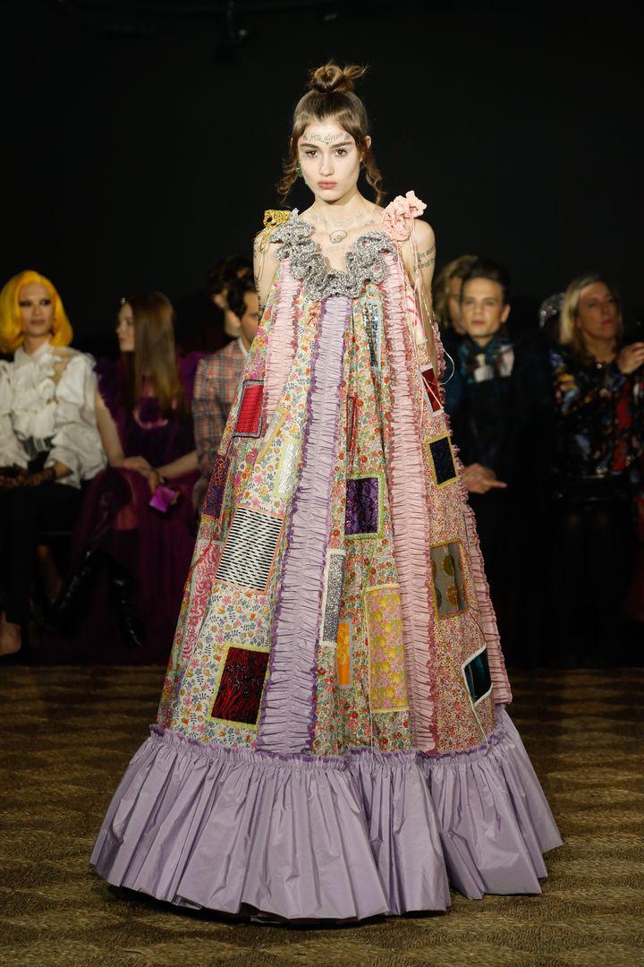 Défilé Viktor & Rolf haute couture printemps-été 2020, à Paris, le 22 janvier 200 (VIKTOR & ROLF)