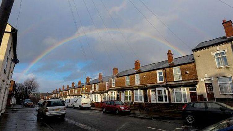 La rue Turner à Birmingham, filmée par Channel 4 pour sa nouvelle téléréalité «Benefits Street». (Channel 4)