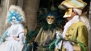 Le 2 mars 2014 au Carnaval de Venise (Italie) (EVREN ATALAY / ANADOLU AGENCY / AFP)