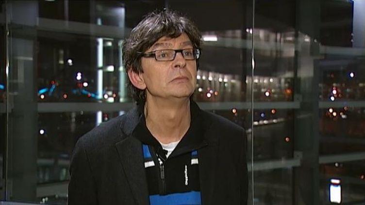 Jean-Luc Touly, le 6 décembre 2011 à Paris. (BENOÎT ZAGDOUN - FTVi / GABRIEL GARCIA ET BRUNO GIRODON - FRANCE 2)