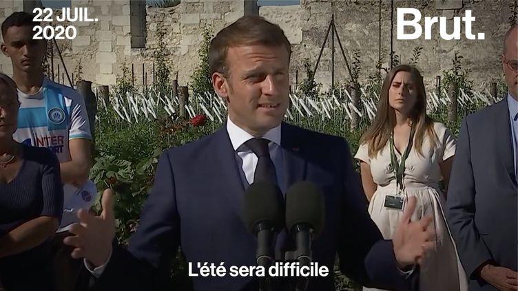 VIDEO. Quand le gouvernement annonce des semaines difficiles...depuis 1 an (BRUT)