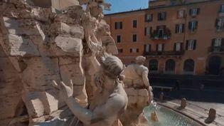 Coronavirus : les touristes désertent Rome (FRANCE 2)