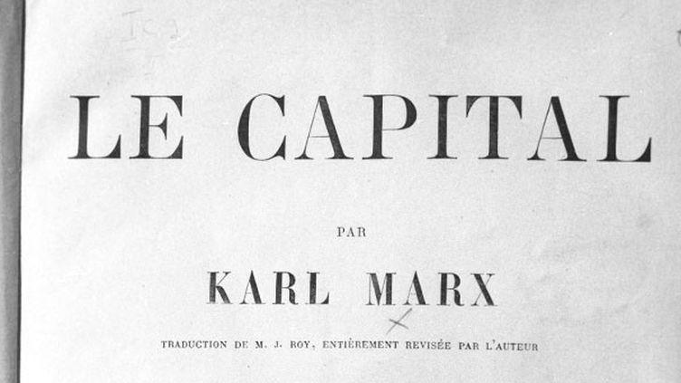 """Ici, la première édition française du livre """"Le Capital"""" par Karl Marx, 1872-1875.  (Vitaliy Karpov / Sputnik)"""