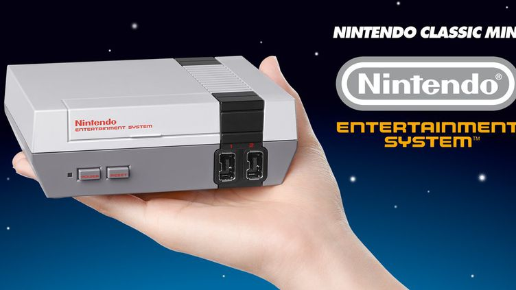 Nintendo a annoncéle14 juillet 2016 la sortie, le 12 novembre prochain, d'une réédition de sa consoleNintendo Classic Mini. (NINTENDO)