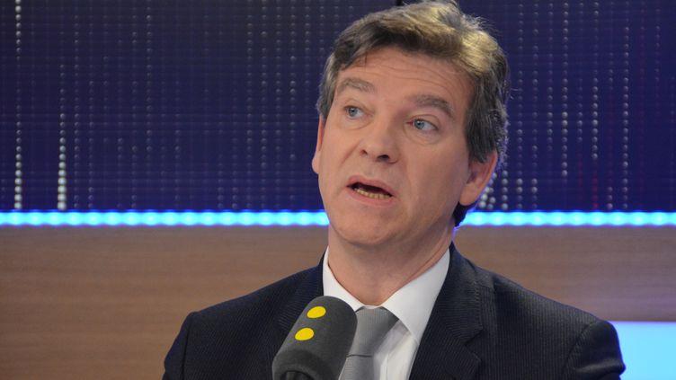 Arnaud Montebourg,candidat à la primaire de la gauche, ancien ministre de l'Economie. (Jean-Christophe Bourdillat / Radio France)