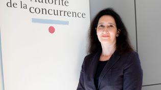 La présidente de l'Autorité de la concurrence, Isabelle de Silva, le 25 juin 2018. (CHRISTOPHE MORIN / MAXPPP)