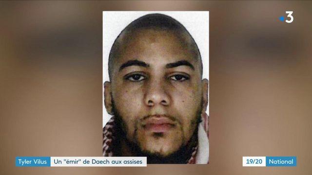 Terrorisme : début du procès de Tyler Vilus, un émir des services secrets de Daesh