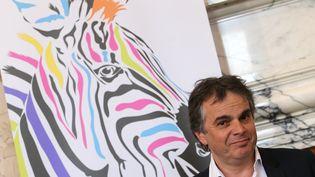 L'écrivain et cinéaste Alexandre Jardin,fondateur du mouvement citoyen Bleu Blanc Zèbre et candidat à l'élection présidentielle 2017. (FRANCOIS NASCIMBENI / AFP)