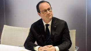 François Hollande à RTL, lundi 19 octobre 2015. (STEPHANE DE SAKUTIN /AFP)