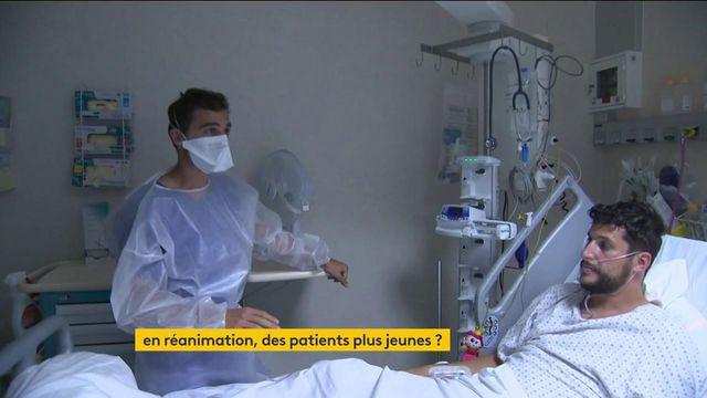 Covid-19 : les services de réanimation accueillent des patients de plus en plus jeunes
