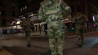 Hier soir, samedi 24 décembre,la France était placée sous haute surveillance par crainte d'attentats. (France 3)