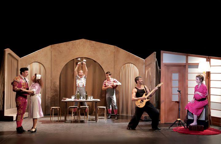 """""""La Famille Ortiz"""" au Théâtre Actuel à Avignon du 5 au 28 juillet 2019 (FABIENNE RAPPENEAU)"""