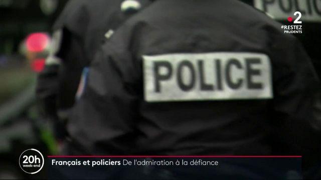 Français et policiers : de l'amour à la défiance