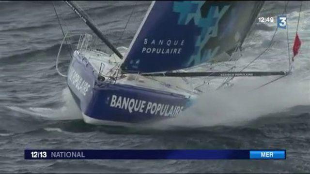 Vendée Globe : Armel Le Cléac'h passe le cap Horn