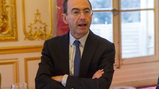 Bruno Retailleau, sénateur des Républicains, et président de la région Pays de la Loire, à Paris, le 19 janvier 2016. (CHRISTOPHE BONNET / CITIZENSIDE.COM / AFP)