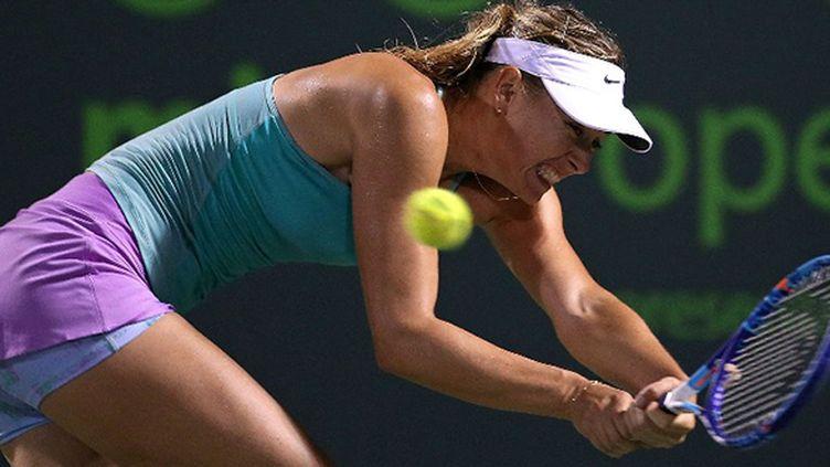 Maria Sharapova en difficulté
