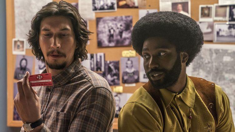 Adam Driver et John David Washington dans BlacKkKlansman  (Universal Pictures)
