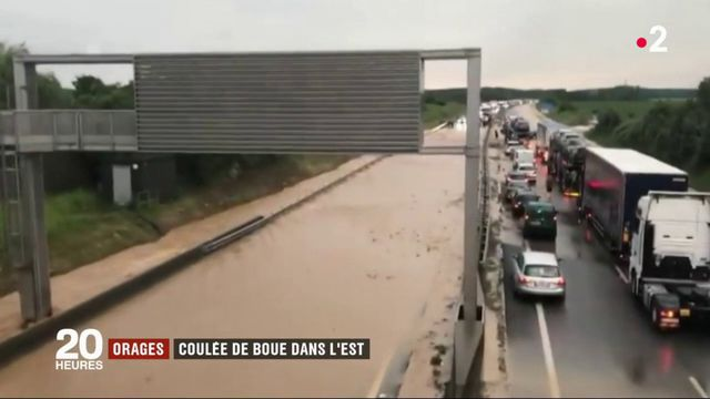 Orages : violente coulée de boue dans le Haut-Rhin