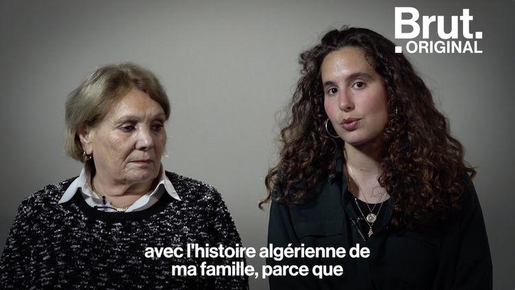 VIDEO. Guerre d'Algérie : elle raconte son exil en France à sa petite-fille (BRUT)