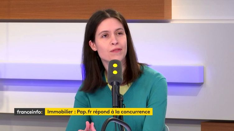 Corinne Jolly, présidente de Pap.fr. (FRANCEINFO)
