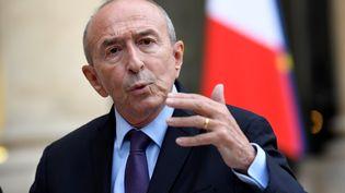 Gérard Collomb, le ministre de l'Intérieur, le 10 septembre 2017 à l'Elysée, à Paris. (BERTRAND GUAY / AFP)