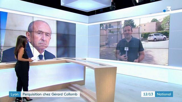Justice : perquisitions chez Gérard Collomb