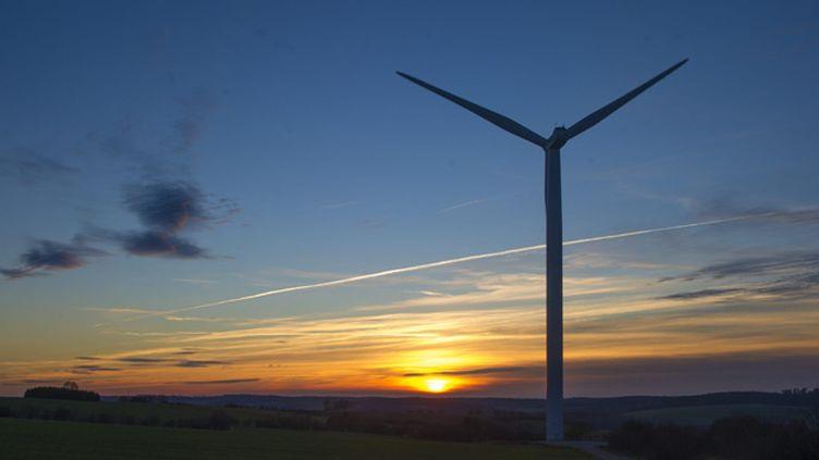 (Vol de métaux : des éoliennes ciblées © Maxppp)