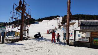 La station de ski de la Quillane dans les Pyrénées-Orientales. (SÉBASTIEN BERRIOT / FRANCE-BLEU ROUSSILLON)