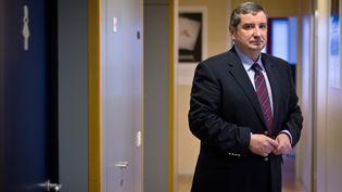 Le président de l'Autorité de régulation des jeux en ligne, Jean-François Vilotte, le 27 janvier 2011 à Paris. (MARTIN BUREAU / AFP)
