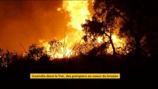 L'incendie dans le Var a tué deux personnes (FRANCEINFO)