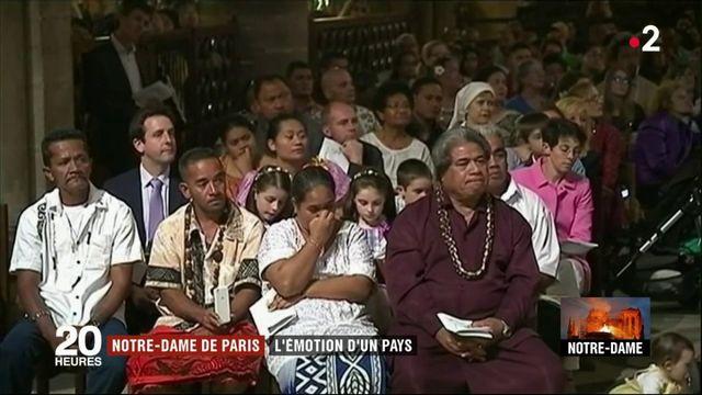 Incendie de Notre-Dame de Paris : l'émotion a traversé toute la France