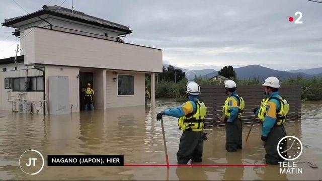 Japon : le typhon Hagibis a fait au moins 35 morts et de nombreux dégâts
