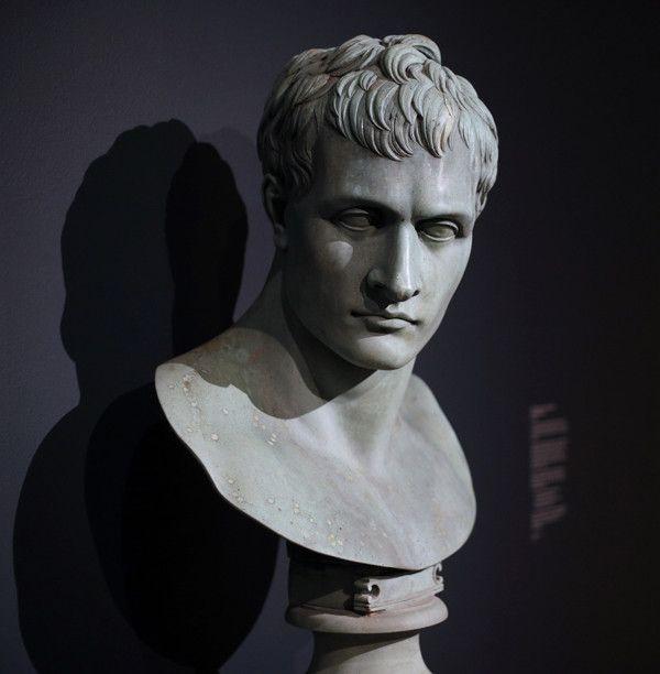 Buste de Napoléon exposé au British Museum  (Adrian Dennis / AFP)